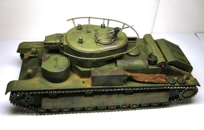 танк Т-28, ТТХ, история создания и фото - 02