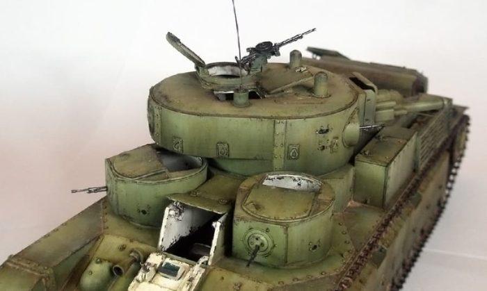 танк Т-28, ТТХ, история создания и фото - 03