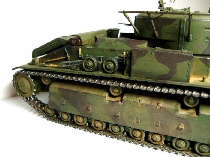 танк Т-28, ТТХ, история создания и фото - 04