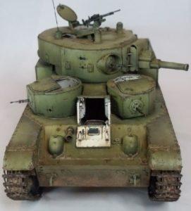 танк Т-28, ТТХ, история создания и фото - 05