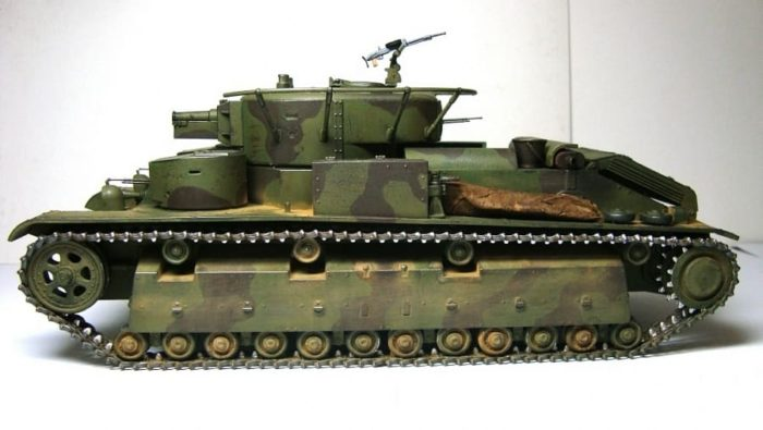 танк Т-28, ТТХ, история создания и фото - 07