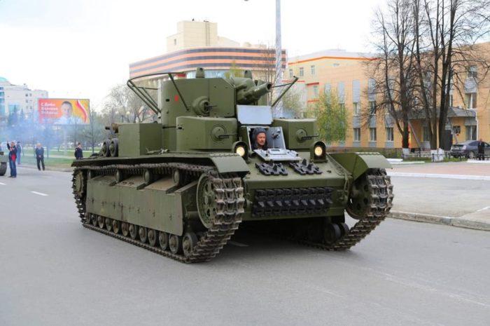 танк Т-28, ТТХ, история создания и фото - 08