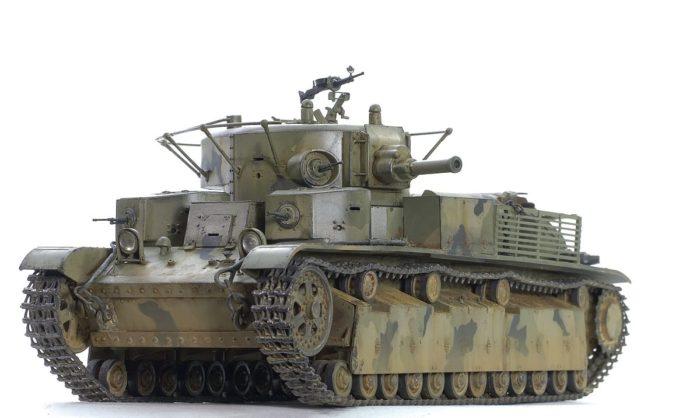 танк Т-28, ТТХ, история создания и фото - 09