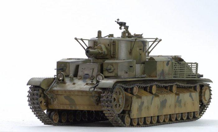 танк Т-28, ТТХ, история создания и фото - 11