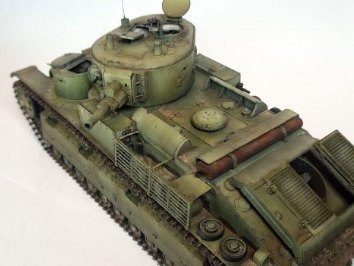 танк Т-28, ТТХ, история создания и фото - 15