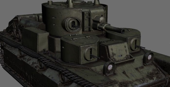 танк Т-28, ТТХ, история создания и фото - 16