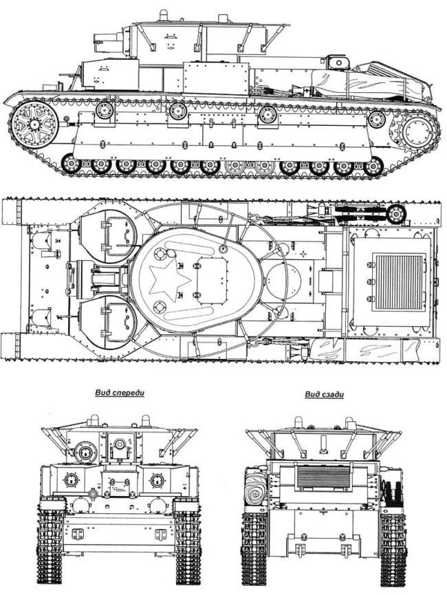 танк Т-28, ТТХ, история создания и фото - 18
