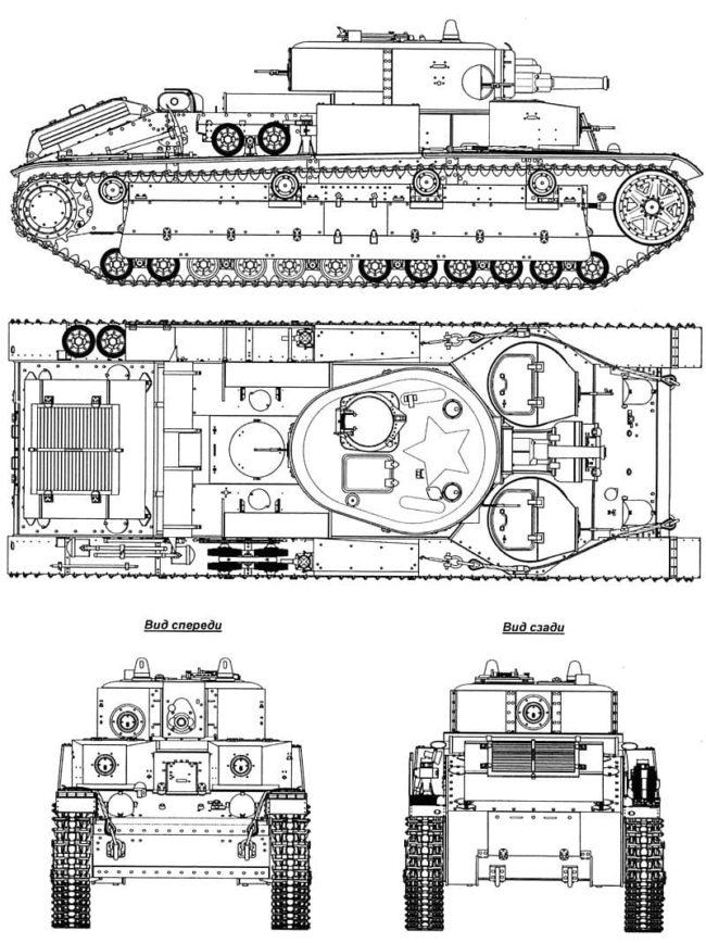 танк Т-28, ТТХ, история создания и фото - 19
