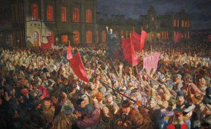 Октябрьская революция и СССР
